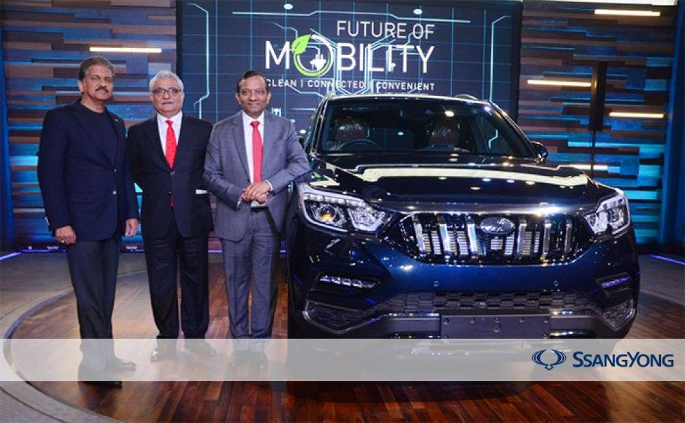 SsangYong Motor Signs Contract with Mahindra to Export Rexton to India