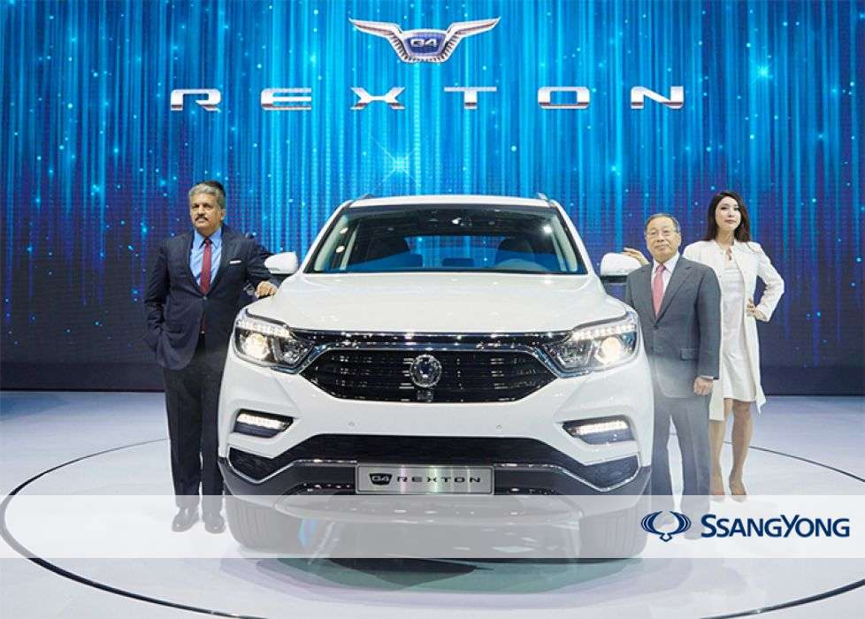 SsangYong Motor Global Sales Record 10,205 units in January 2018